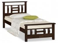Односпальные кровати из дерева