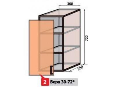 Квадро №2 30 верх витрина