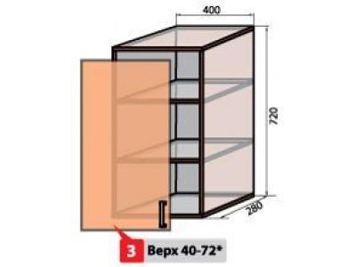 Квадро №3 40 верх витрина
