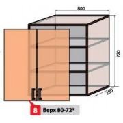Квадро №8 80 верх витрина