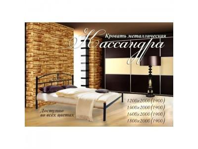Металлическая кровать «Кассандра» (Металл-дизайн)