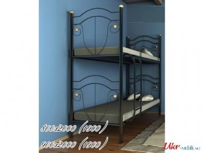 Двухъярусная кровать «Диана» (Металл-Дизайн)
