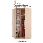 Угловой шкаф купе В-120