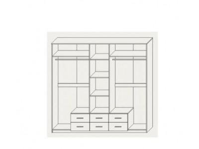 Шкаф 5Д «Сандра» (Сокме)
