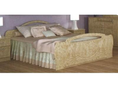 Кровать 1.6 «Антария» (Мебель-Сервис)