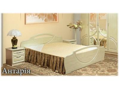 Кровать 1.4 «Антария» (Мебель-Сервис)