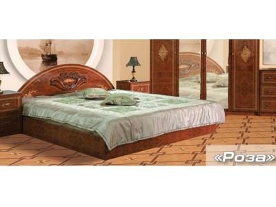 Кровать «Роза» (Мебель-Сервис)