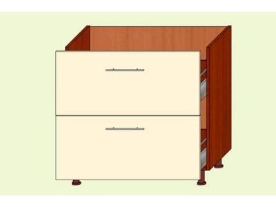 Модуль №11 Н 800/820 ящики кухня ВИКТОРИЯ