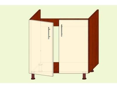 Модуль №14 Н 800/820 мойка кухня ВИКТОРИЯ