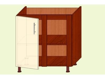 Модуль №16 Н 880/820 угл. кухня ВИКТОРИЯ