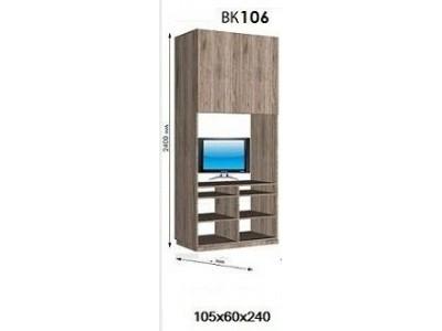 Шкаф с нишой под ТВ Виват ВК 106 «ДОМ»