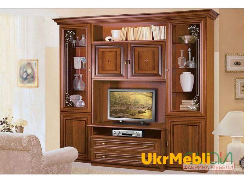 Гостиная « КАПРИ витрина ТВ» (Скай)