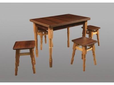 Кухонный стол + 4 табуретки