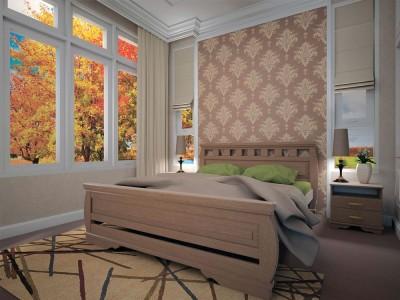 Кровать деревянная «Атлант 14» (ТИС)