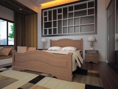 Кровать деревянная «Атлант 15» (ТИС)