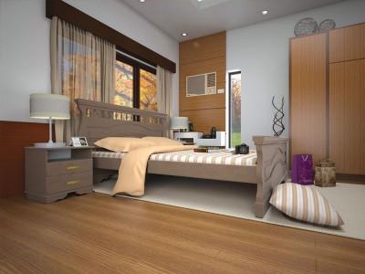Кровать деревянная «Атлант 16» (ТИС)
