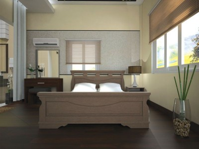 Кровать деревянная «Атлант 17» (ТИС)