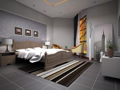 Кровать деревянная «Атлант 18» (ТИС)