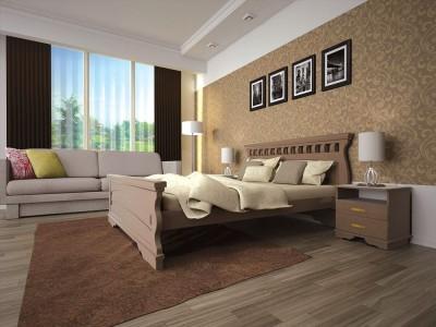 Кровать деревянная «Атлант 19» (ТИС)