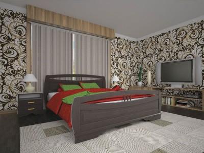 Кровать деревянная «Атлант 21» (ТИС)