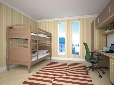 Двухъярусная кровать «Трансформер 7» (Тис)