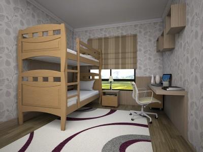 Двухъярусная кровать «Трансформер 11» (Тис)