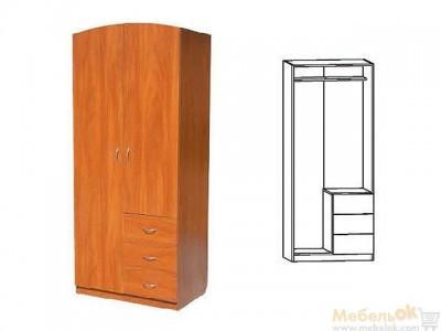 Платяной Шкаф-06 (РТВ мебель)