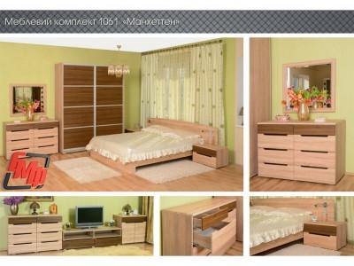Модульная спальня «Манхеттен» (БМФ)
