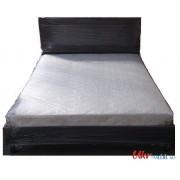 Ліжко «Двоспальне з каркасним матрацом»