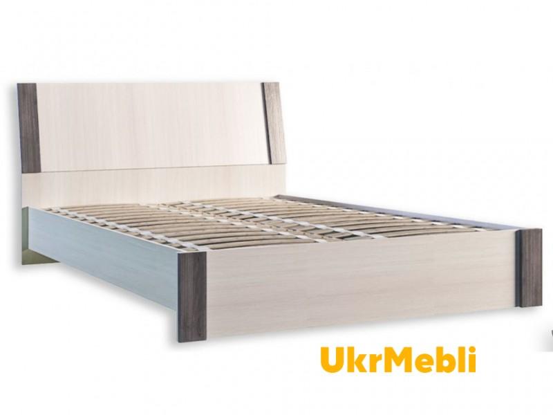 Кровать 1.6 «Венеция+ламель» (Феникс)