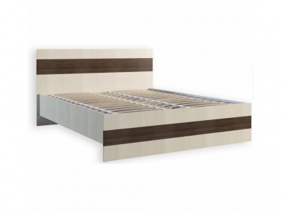 Кровать 1.4 «Марсель +ламель» (Феникс)