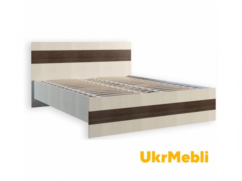 Кровать 1.6 «Марсель+ламель» (Феникс)