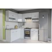 Кухня «Алина» белый лак Світ Меблів