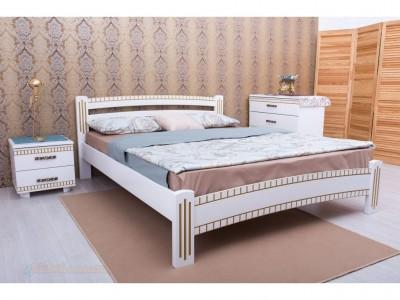 Кровать «Милана Люкс с фрезеровкой» (Олимп)
