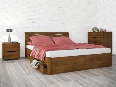 Кровать «Марита Люкс с ящиками» (Олимп)