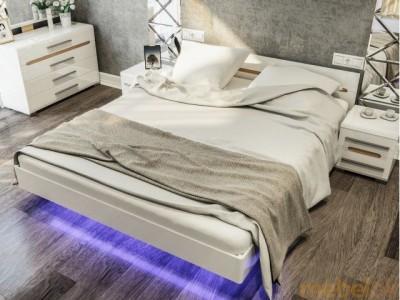 Кровать 2СП Бьянко Світ Меблів