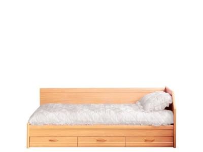 Кровать 1-сп (б/матраса) Вояж Світ Меблів