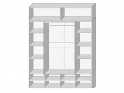 Шкаф 4Д №4 Комфорт