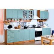 Кухня Карина 2.6 бирюза (БМФ)