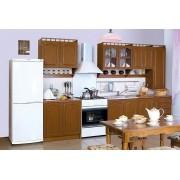 Кухня Карина 2.6 Лак с пеналом (БМФ)