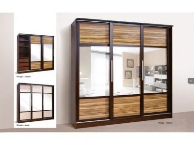Шкаф кепе Монтере 3Д (Світ меблів)