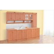 Кухня Корона с пеналом 2,6 м «Світ меблів»