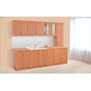 Кухня «Оля» 2,6м с пеналом (Світ меблів)