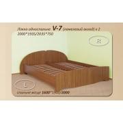 Кровать двухспальная 1+1 V-7