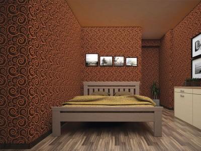 Кровать деревянная «Мадрид» (ТИС)