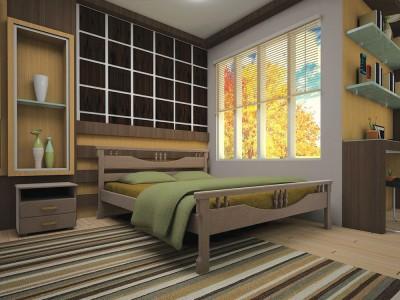 Кровать деревянная «Гармония» (ТИС)