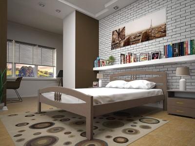 Кровать деревянная «Лотос» (ТИС)