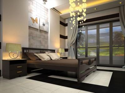 Кровать деревянная «Атлант 3» (ТИС)