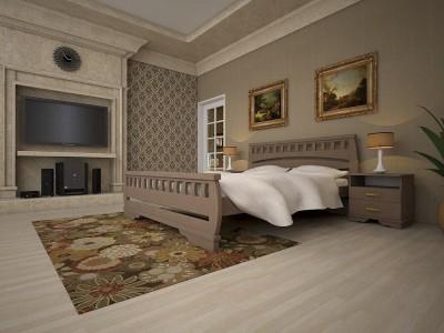 Кровать деревянная «Атлант 4» (ТИС)