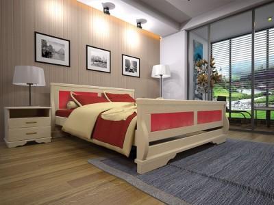 Кровать деревянная «Атлант 5» (ТИС)